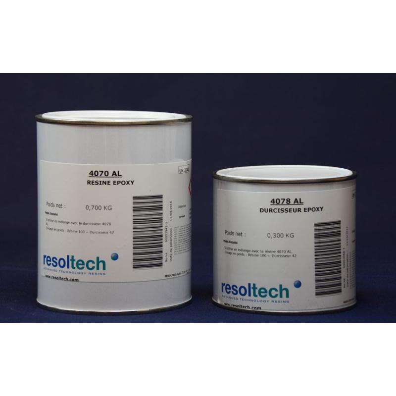 Revêtement epoxy pour contact alimentaire 4070 AL