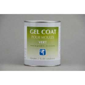 Gel coat pour moules Vinylester vert pistolable