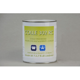 Colle polyester 302 RC