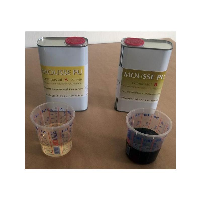 Kit Mousse polyurethane 35 Kg/m3