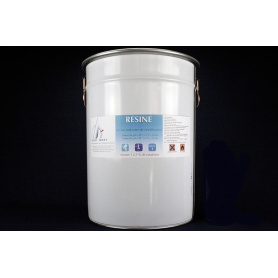 Kit résine polyester isophtalique de stratification en 25 kg