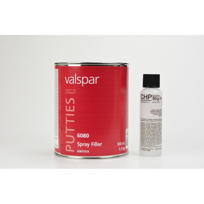 Mastic polyester pistolable