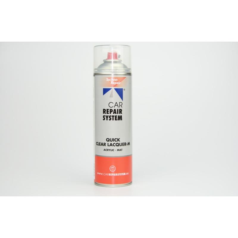 Bombe de vernis acrylique monocomposant MAT
